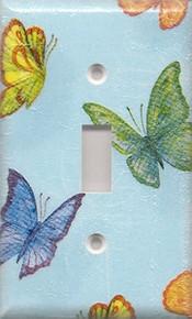 Blue Butterflies - Single Switch