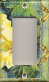 Yellow Hibiscus Flowers - GFI/Rocker