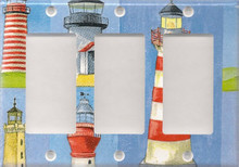 Many Lighthouses - Triple GFI/Rocker