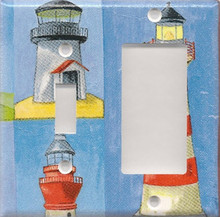 Many Lighthouses - Double Combo Switch & GFI