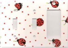 Ladybug - Triple Switch & Switch & GFI