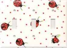 Ladybug - Triple Switch