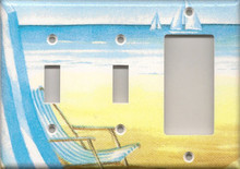 Beach Chair - Triple Combo Switch & Switch & GFI