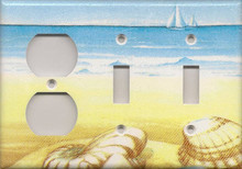 Blue and Yellow Shells - Triple Combo Outlet & Switch & Switch