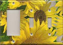 Sunflowers - Triple Combo GFI & Switch & Switch