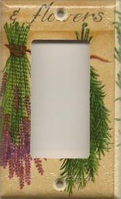Herbs & Flowers - GFI/Rocker
