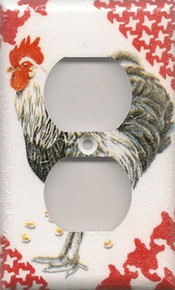 Black & White Rooster - Outlet