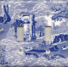 Blue Toile - Double Switch