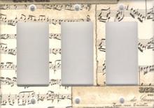 Musical Notes - Triple GFI/Rocker