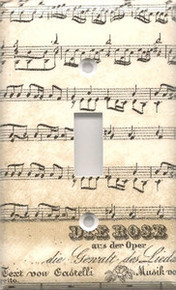 Musical Notes - Single Switch