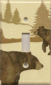 Bear & Bear Cub - Single Switch