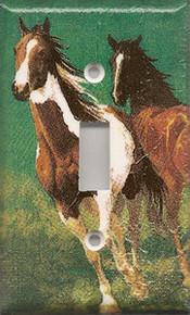 Running Horses - Single Switch