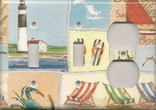 Beachy Things - Triple Switch & Switch & Outlet