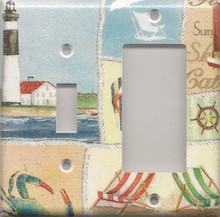 Beachy Things - Double Combo Switch & GFI