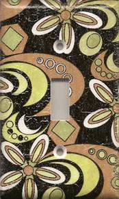 Patterned Black, Copper, & Gold Single