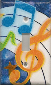 Music Blue - Single Switch