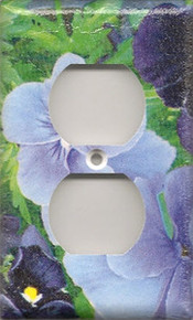 Purple Pansies - Outlet
