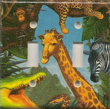 Safari Animals - Double Switch