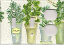 Herbs - Triple Combo Switch & Switch & Outlet