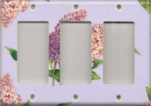 Lilac Branch - Triple GFI/Rocker