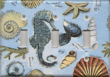Seahorse and Shells - Triple Switch