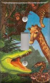 Safari Animals - Single Switch