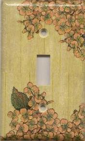 Vintage Flowers - Single Switch