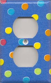 Blue Polka Dots - Outlet