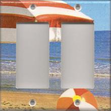 Beach Umbrella - Double GFI/Rocker