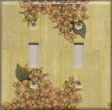 Vintage Flowers - Double Switch