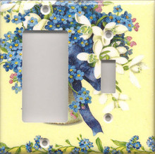 Forget Me Nots - Double Combo GFI & Switch