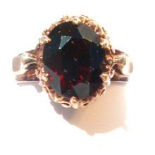 Vintage Victorian Garnet Ring