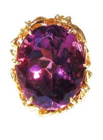 Vintage Amethyst 14K Ring