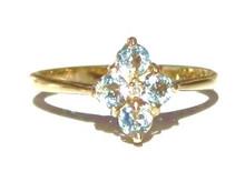 Vintage Aquamarine Ring