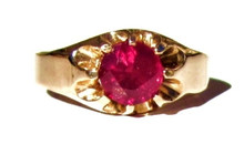 Vintage Ruby 10K Ring