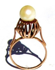 Vintage Pearl Designer Ring