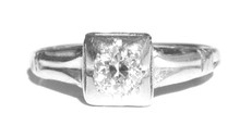 Antique Art Deco Engagement Ring