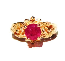 Antique Ruby 18K Ring