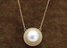 Mabe Pearl 18K Necklace