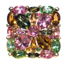 Vintage Large Tourmaline Ring