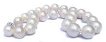 Large Round South Sea Pearl Necklace