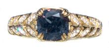 Color Change Bekily Garnet & Diamond 18K Ring
