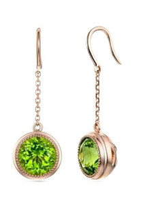 Arizona Peridot Dangle Earrings