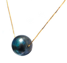 Tahitian Peacock Pearl 18K Necklace
