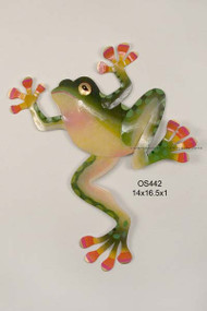 Tree Frog Metal Wall Art