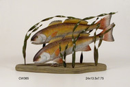 Red Fish - Table Top Sculpture