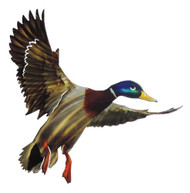 MALLARD OUTDOOR METAL WALL ART