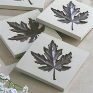 Maple Leaf Coaster Set