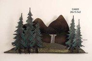 Mountain Vista Wall Sculpture