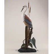 Heron on Slate Base